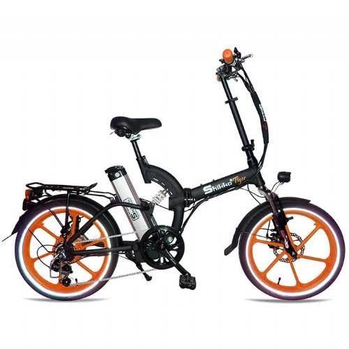 עדכני אופניים חשמליים 48 וולט עם שיכוך מלא שיקו טייגר Shikko Tiger BD-61
