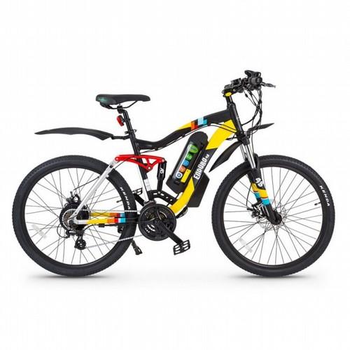מצטיין אופני הרים חשמליים אנדורו GreenBike Enduro 48 GU-42