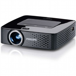 מקרן כיס פיליפס עם Wi-Fi ו-140 לומן Philips PPX3614