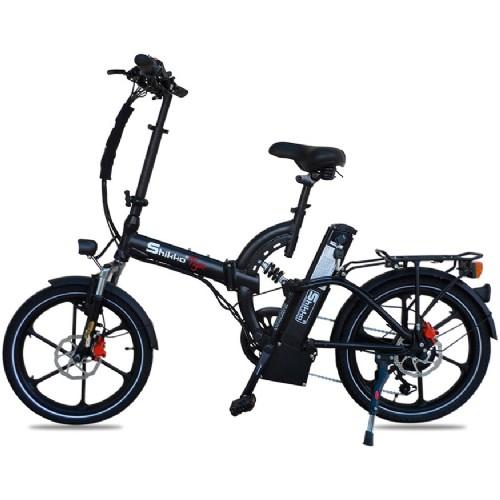 מגניב אופניים חשמליים 48 וולט עם שיכוך מלא שיקו טייגר Shikko Tiger UV-86