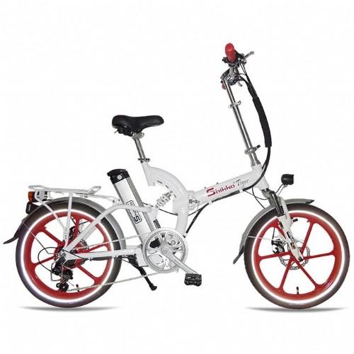 אדיר אופניים חשמליים 48 וולט עם שיכוך מלא שיקו טייגר Shikko Tiger ES-22