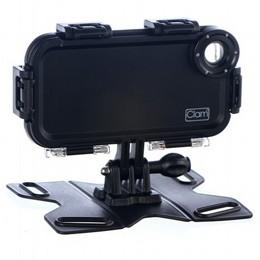 מארז iClam שהופך את הסמארטפון למצלמת אקסטרים - לאייפון 4 / גלקסי 3